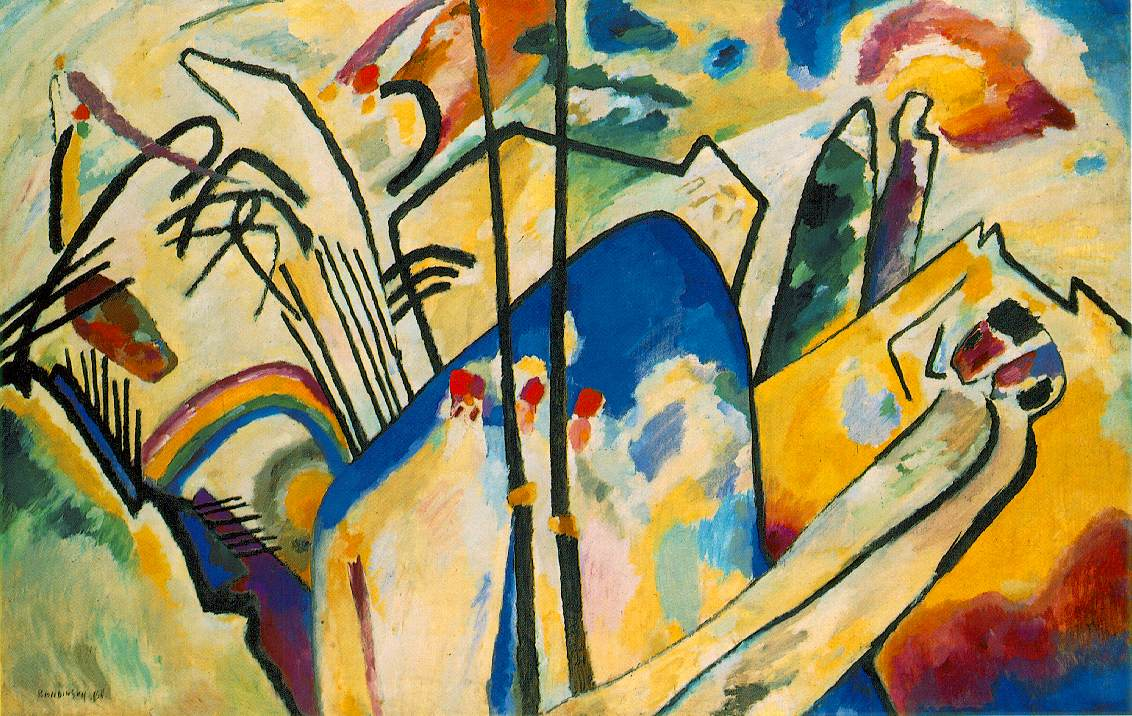 Visual arts abstraction for The craft of musical composition