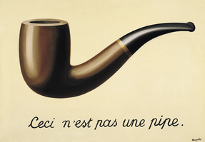 René Magritte, The Treachery of Images, 1928–29