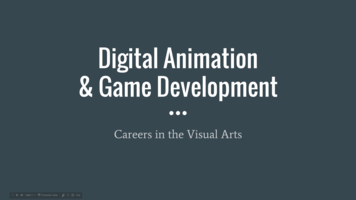 Digital Animation and Game Development