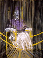Francis Bacon, Study after Velázquez's Portrait of Pope Innocent X, 1953