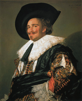 Frans Hals, Laughing Cavalier, 1624