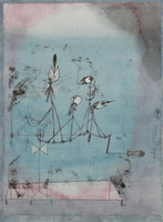 Klee, The Twittering Machine, 1922