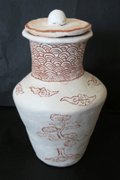 Finn Sullivan-Ash, Engraved clay vessel, Fall 2015