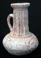 Gregor Zed, Engraved clay vessel, Spring 2014