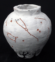 Hana Nikcevic, Engraved clay vessel, Fall 2012