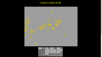 Lucas Chaisson, Exam project: Conway's game of life, Fall 2015